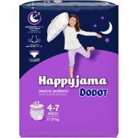 Bragapañal niña Talla 7 DODOT Happyjama, paquete 17 uds