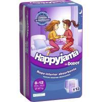 Bragapañal niña Talla 8 DODOT Happyjama, paquete 13 unid.