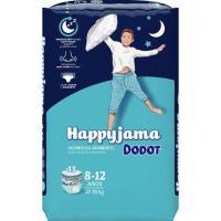 Bragapañal niño Talla 8 DODOT Happyjama, paquete 13 unid.