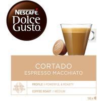 Café cortado NESCAFÉ Dolce Gusto, caja 16 monodosis