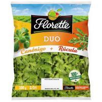 Ensalada Duo Canónigos-Rúcula FLORETTE, bolsa 100 g