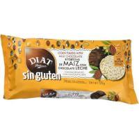 Tortitas de maíz con chocolate con leche DIET, paquete 125 g