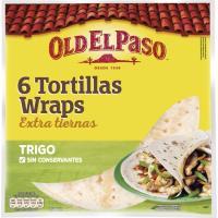 Wrap mejicano OLD EL PASO, paquete 350 g