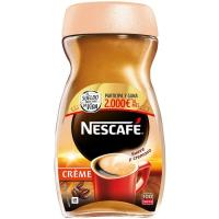 Café Creme Natural NESCAFÉ, frasco 200 g