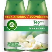 Ambientador White Bouquet AIRWICK F. Matic, recambio 2 unid.