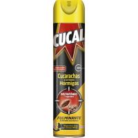 Insecticida cucarachas CUCAL, spray 400 ml
