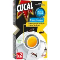 Insecticida trampa hormigas CUCAL, caja 2 unid.