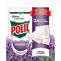 Antipolillas en pastilla POLIL, bolsa 24 uds