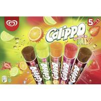 Helado Supermix CALIPPO, 5 uds, caja 525 g