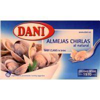 Almeja-chirla natural DANI, lata 63 g