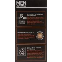 Tinte para hombre N.2 castaño oscuro LLONGUERAS, caja 1 ud