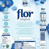 Suavizante concentrado classic FLOR, botella 80 dosis