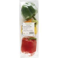 Pimiento tricolor, bolsa 500 g