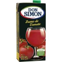 Zumo de tomate DON SIMON, brik 1 litro