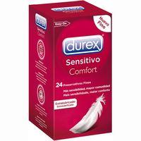 Preservativo sensitivo suave DUREX, caja 24 unid.