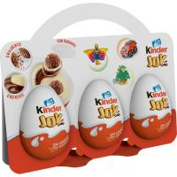Huevo de chocolate Joy KINDER, pack 3x20 g