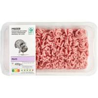 Burguer Meat de pavo EROSKI Sannia, bandeja 400 g