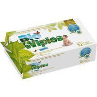 Toalllitas Bio MOLTEX, paquete 72 unid.