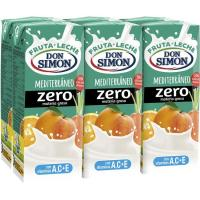 Lactozumo funciona sabor Mediterráneo DON SIMÓN, pack 6x200 ml