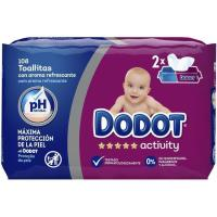Toallitas DODOT Activity, paquete 108 uds