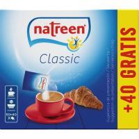 Edulcorante granulado NATREEN, caja 90 sobres