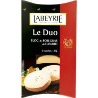 Foie Gras de Canard duo LABEYRIE, blister 80 g