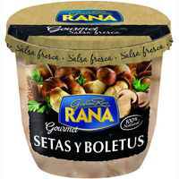 Salsa de setas-boletus RANA, tarrina 140 g