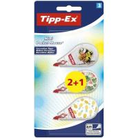 Cinta tippex mini pocket mouse decorada TIPP-EX,  2+1uds