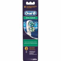 Cepillo eléctrico Dual Clean ORAL-B, recambio 2 unid.