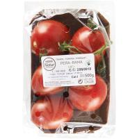 Tomate Pera en rama EROSKI Natur, bandeja 500 g
