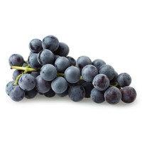 Uva negra, al peso, compra mínima 500 g