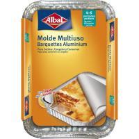 Molde de aluminio 31x21 cm ALBAL, paquete 2 uds.