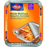 Molde de aluminio multiuso 32x26 ALBAL, pack 2 uds.