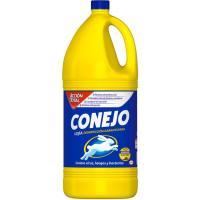 Lejía hogar CONEJO, garrafa 4 litros