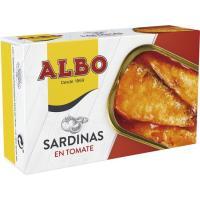 Sardina en tomate ALBO, lata 120 g