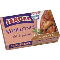 Mejillón en salsa vieira ISABEL, lata 115 g