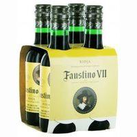 Vino Tinto D.O. Rioja FAUSTINO VII, pack 4x18 cl