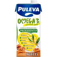 Preparado Lácteo Omega3 con Nueces PULEVA, brik 1 litro