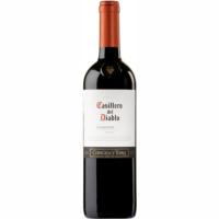 Vino Carmenere Chile CASILLERO DEL DIABLO, botella 75 cl