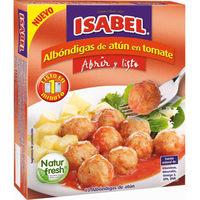 Albondigas de atún ISABEL, caja 160 g