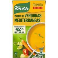 Crema de verduras mediterránea KNORR, brik 1 litro