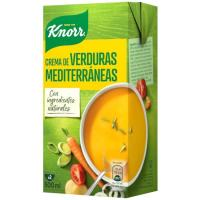 Crema de verduras mediterránea KNORR, brik 500 ml
