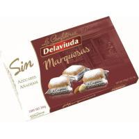 Marquesas sin azúcar DELAVIUDA, caja 250 g