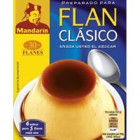 Flan clásico MANDARIN, 6 unid., caja 180 g