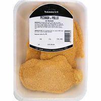 Pechuga de pollo con bechamel BASARRI, bandeja aprox. 350 g