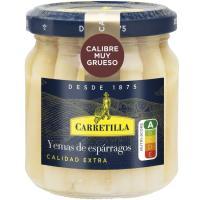 Yema de espárrago muy gruesa CARRETILLA, frasco 110 g