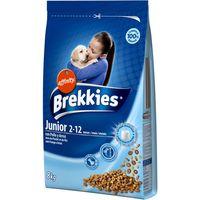 Alimento seco para perro junior BREKKIES, saco 8 kg