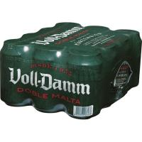 Cerveza VOLL DAMM, pack 12x33 cl