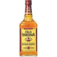 Whisky Bourbon 6 años OLD VIRGINIA, botella 70 cl