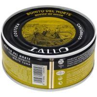 Bonito en aceite de oliva ZALLO, lata 266 g